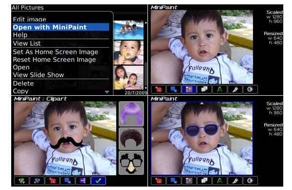 photo editor for blackberry