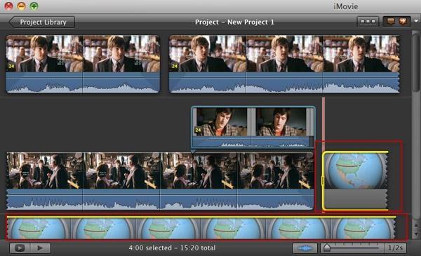 Hvordan lage film i imovie