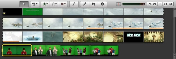 green screen in iMovie