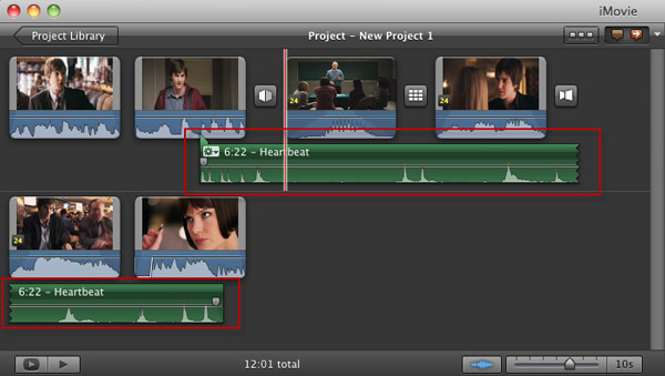add imovie sound effects