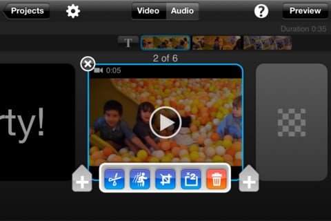 splice free ipad video editor