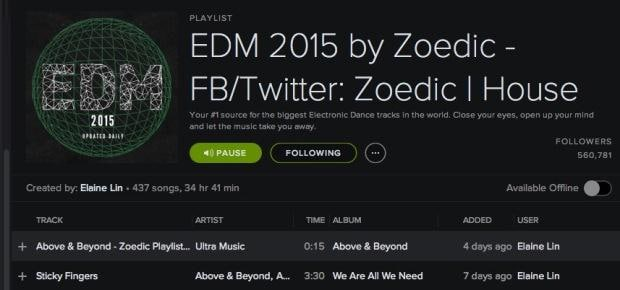 Export  Spotify Playlist,Backup and Recover