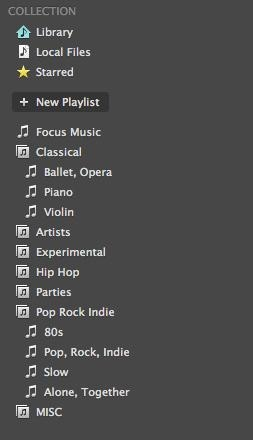 Create a Playlist on Spotify