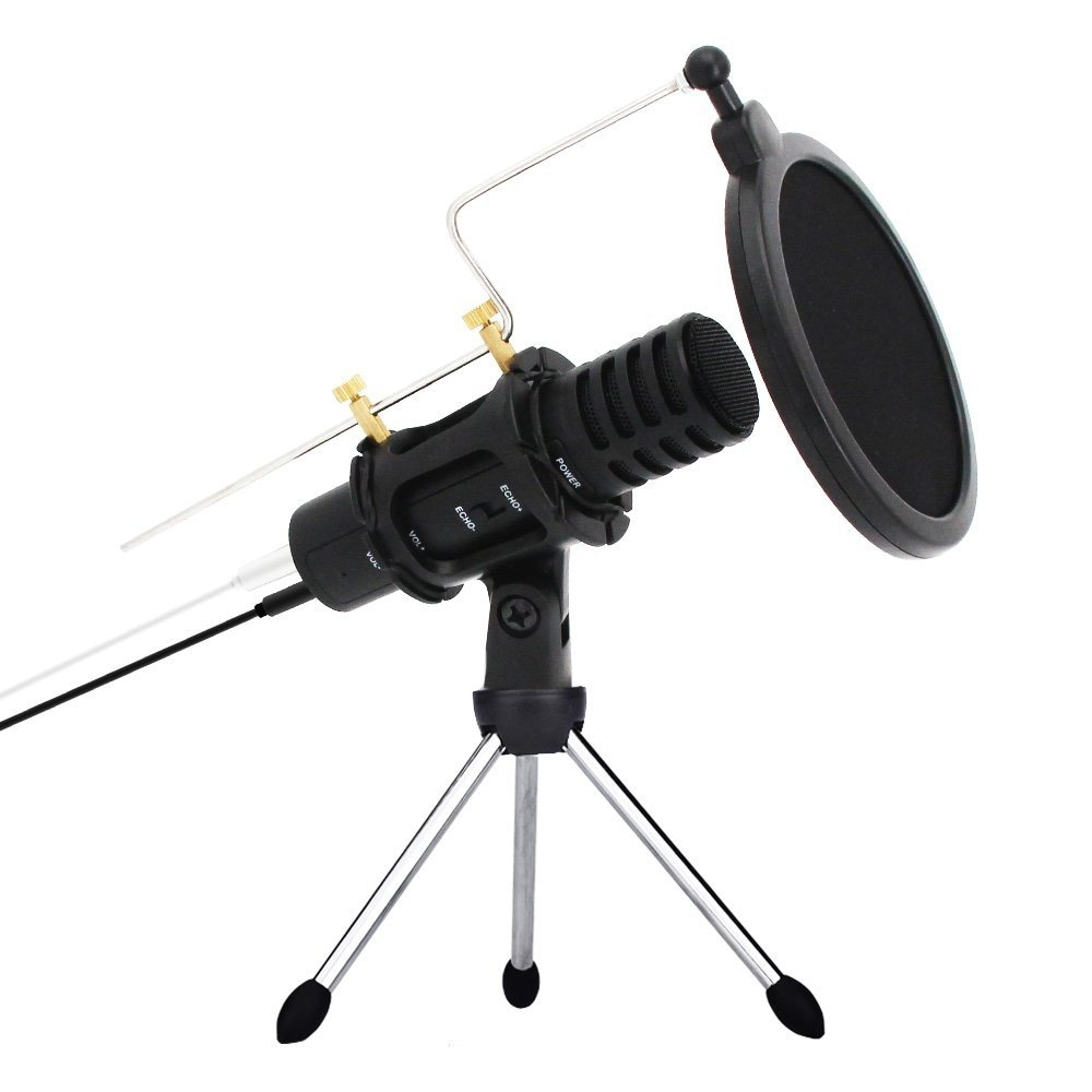 xiaokoa-mini-condenser-microphone-with-stand