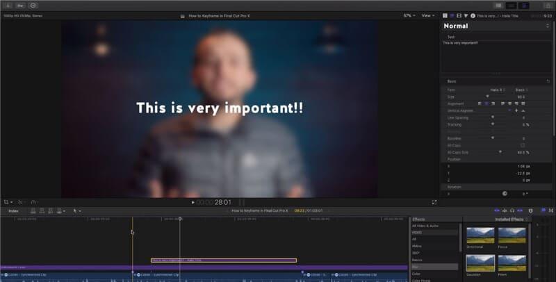 add-title-final-cut-pro-x-keyframe-animations