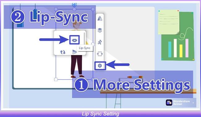 Lip Sync Setting