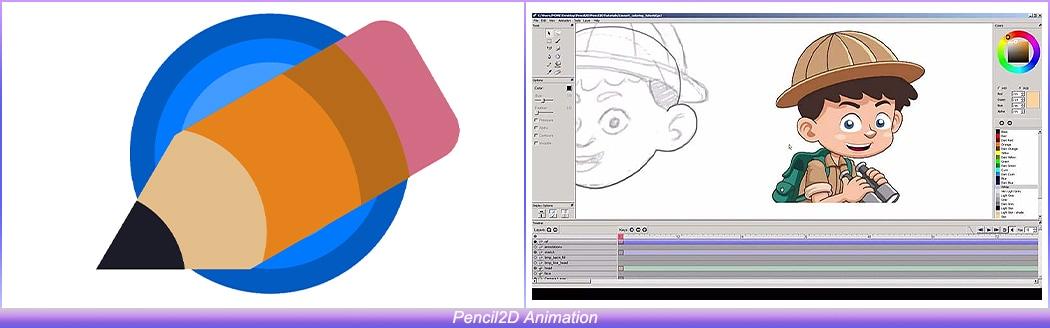 Pencil2D Animation