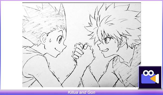 Killua and Gon