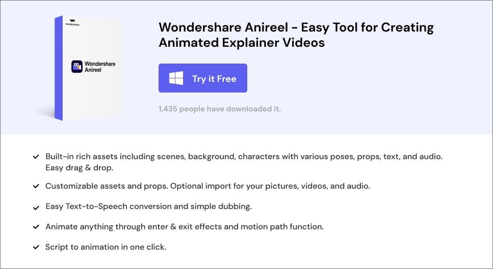 Wondershare Anireel