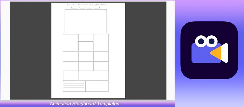 Animation Storyboard Templates