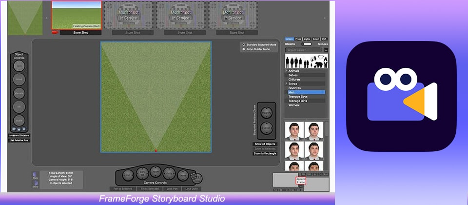 FrameForge Storyboard Studio