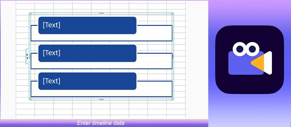 Enter timeline data