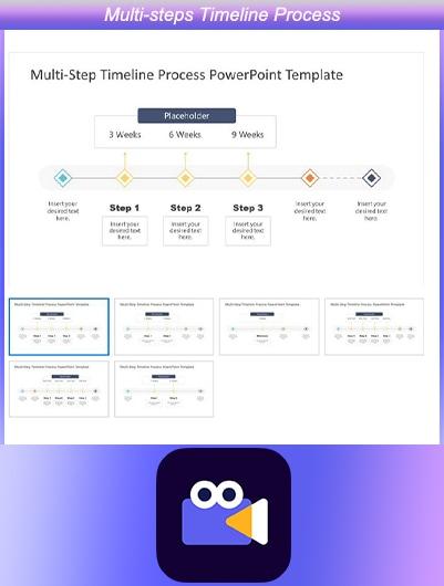 Multi-steps Timeline Process
