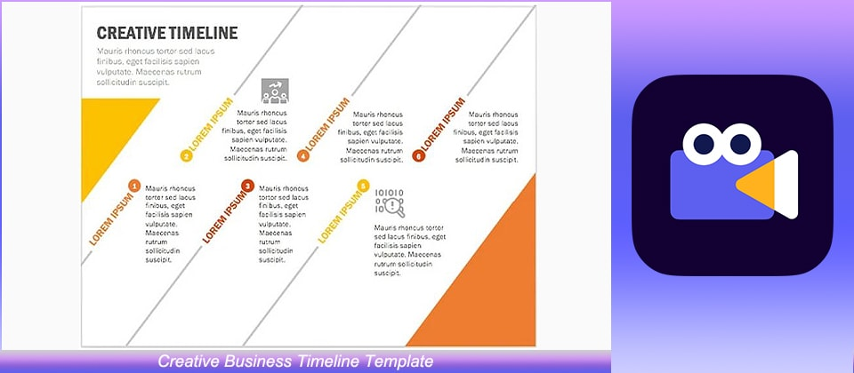 Creative Business Timeline Template
