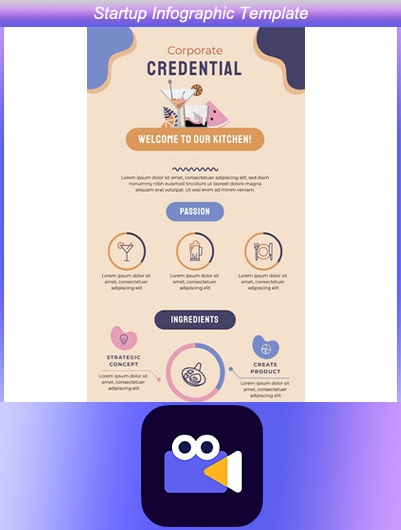 Startup Infographic Template
