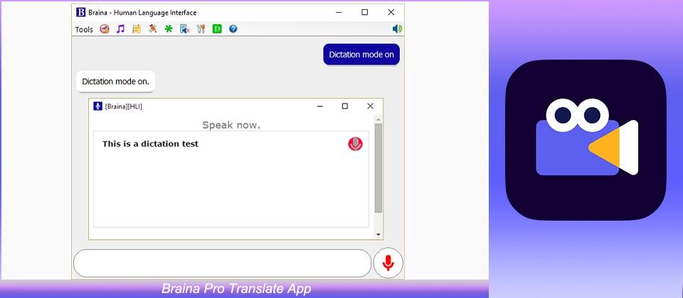 Braina Pro Translate App