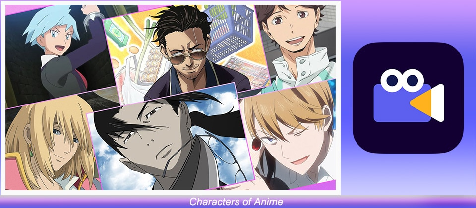 Characters of Anime
