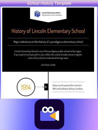 School History Template