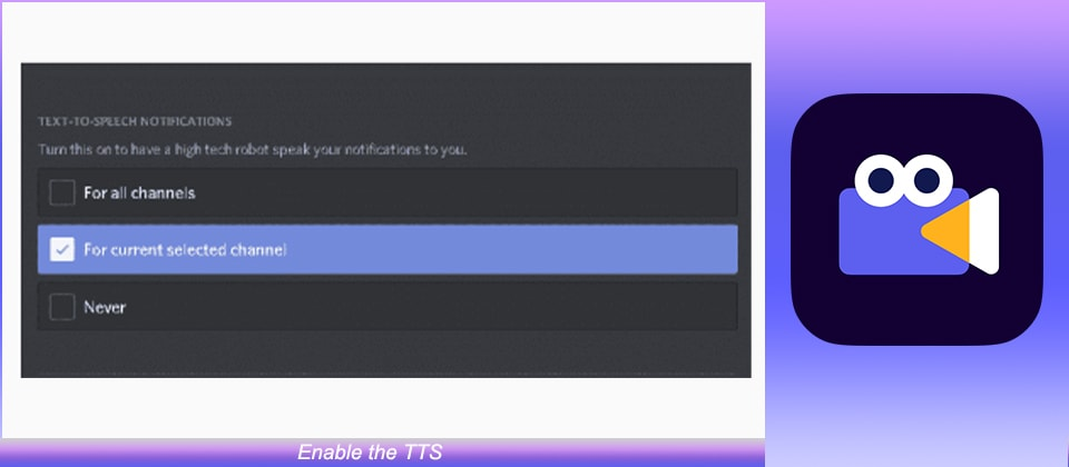 enable the TTS