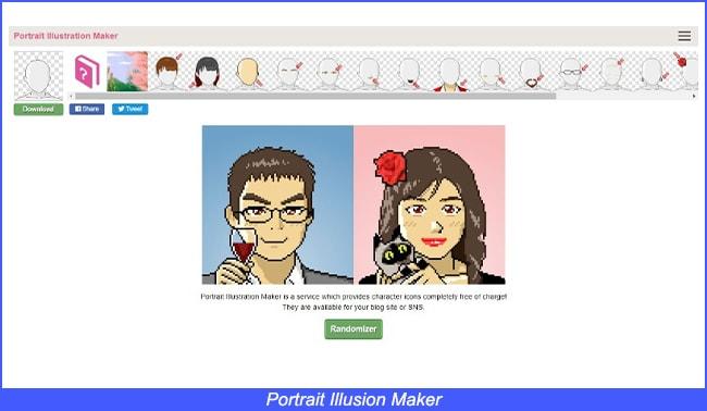 Portrait Illusion Maker