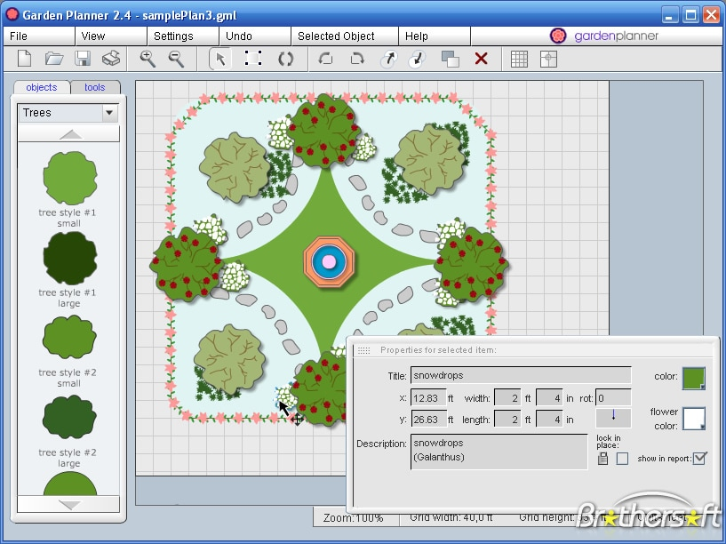 Free garden design software mac for Garden design 3d mac