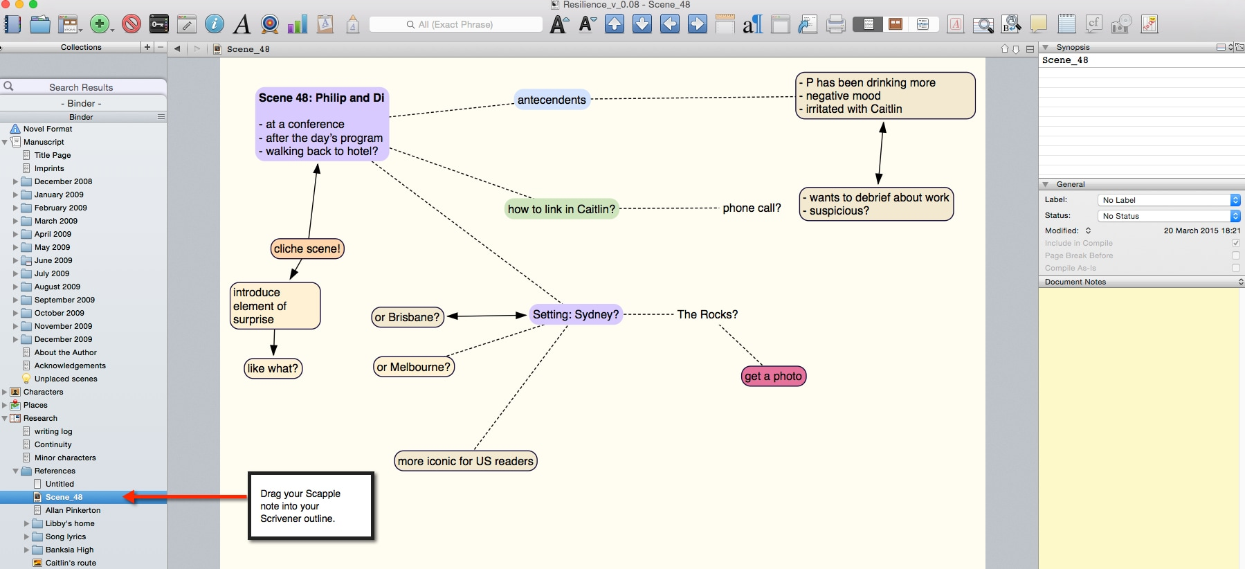 Scapple, A Writers' Mind Map App From The Maker Of ...