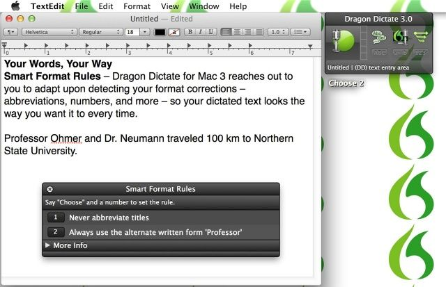 Dictation to text software mac version