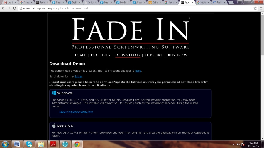 Fade In Professional Screenwriting Software Crack - sandiegohelp's blog