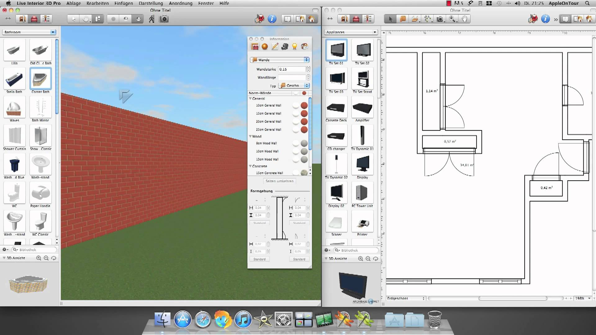 Free interior design software for mac top interior for Best free interior design software