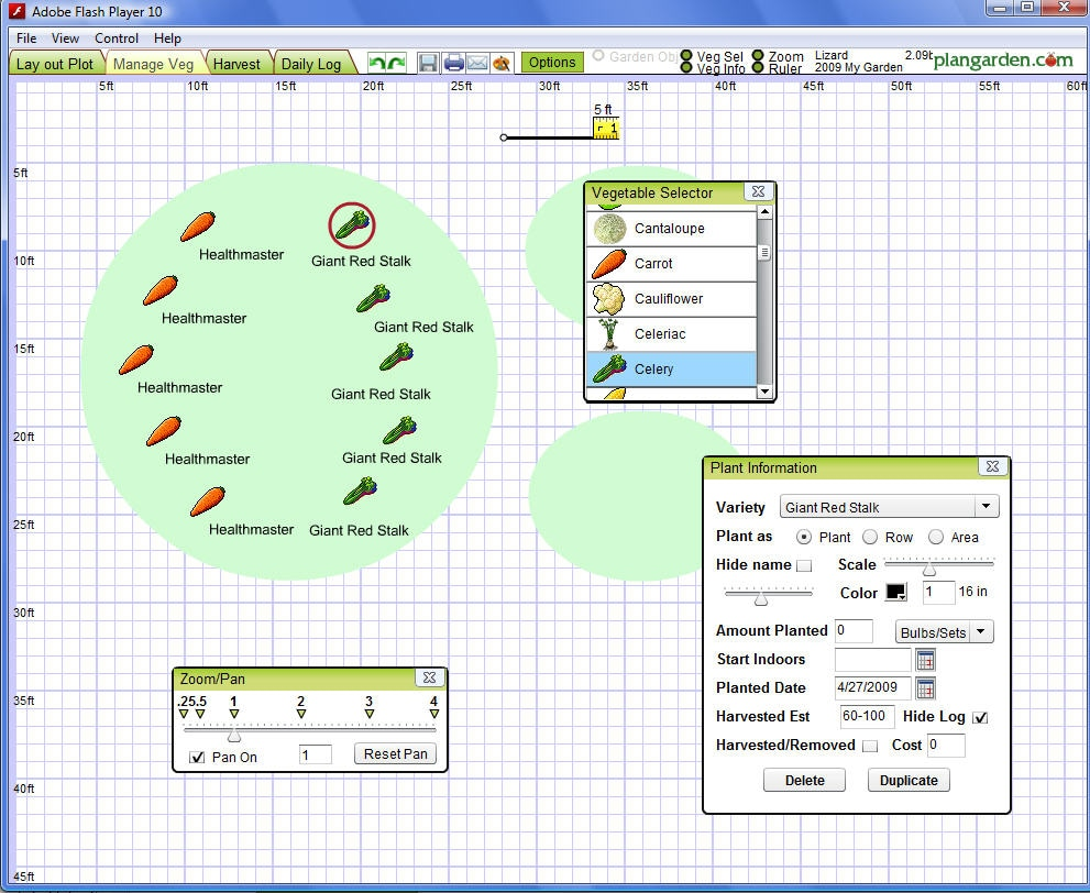Free landscape design software for windows for Garden design software