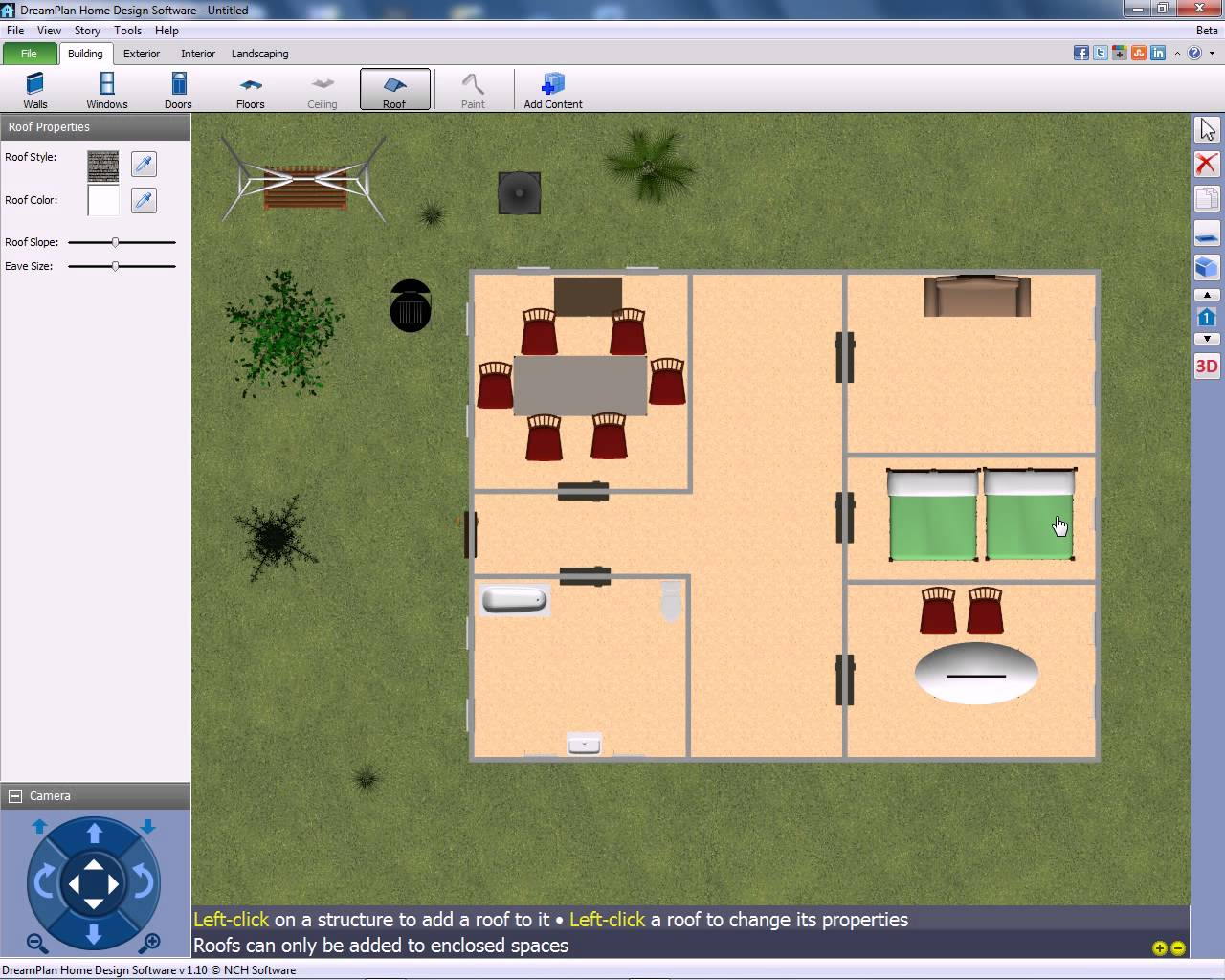 Screenshot - Free Landscape Design Software For Windows