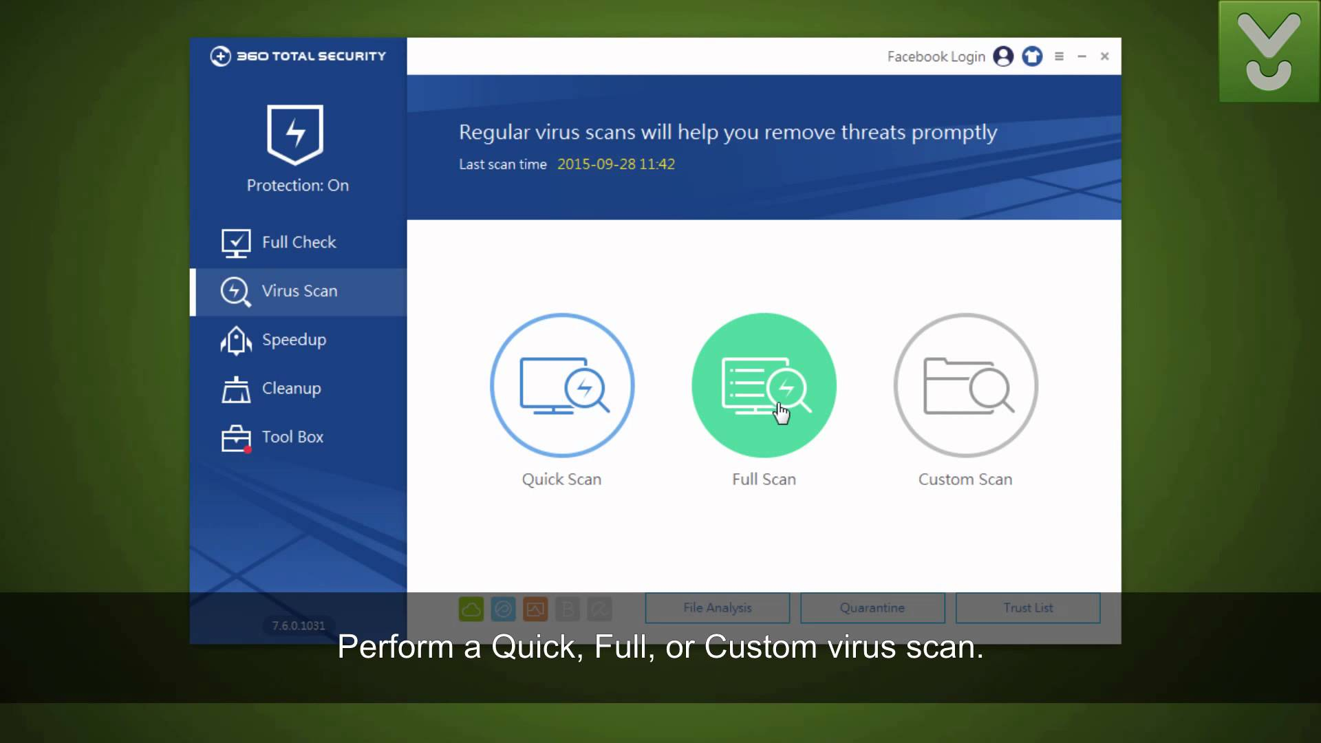 antivirus 360 total security 2016