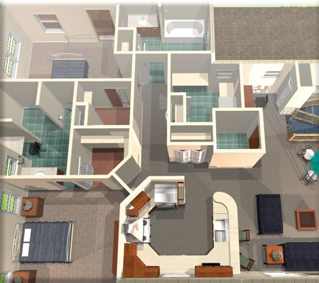 Free floor plan software windows part 2 2turbofloorplan landscape deluxe design software malvernweather Image collections