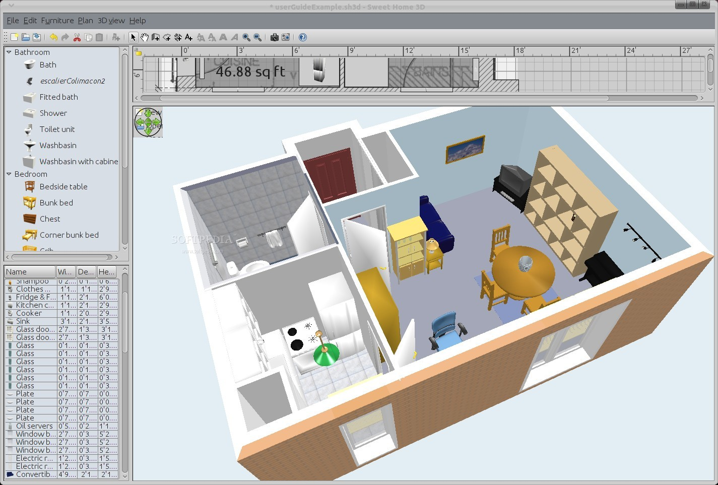 Free home design software for windows for Free 3d house design software online