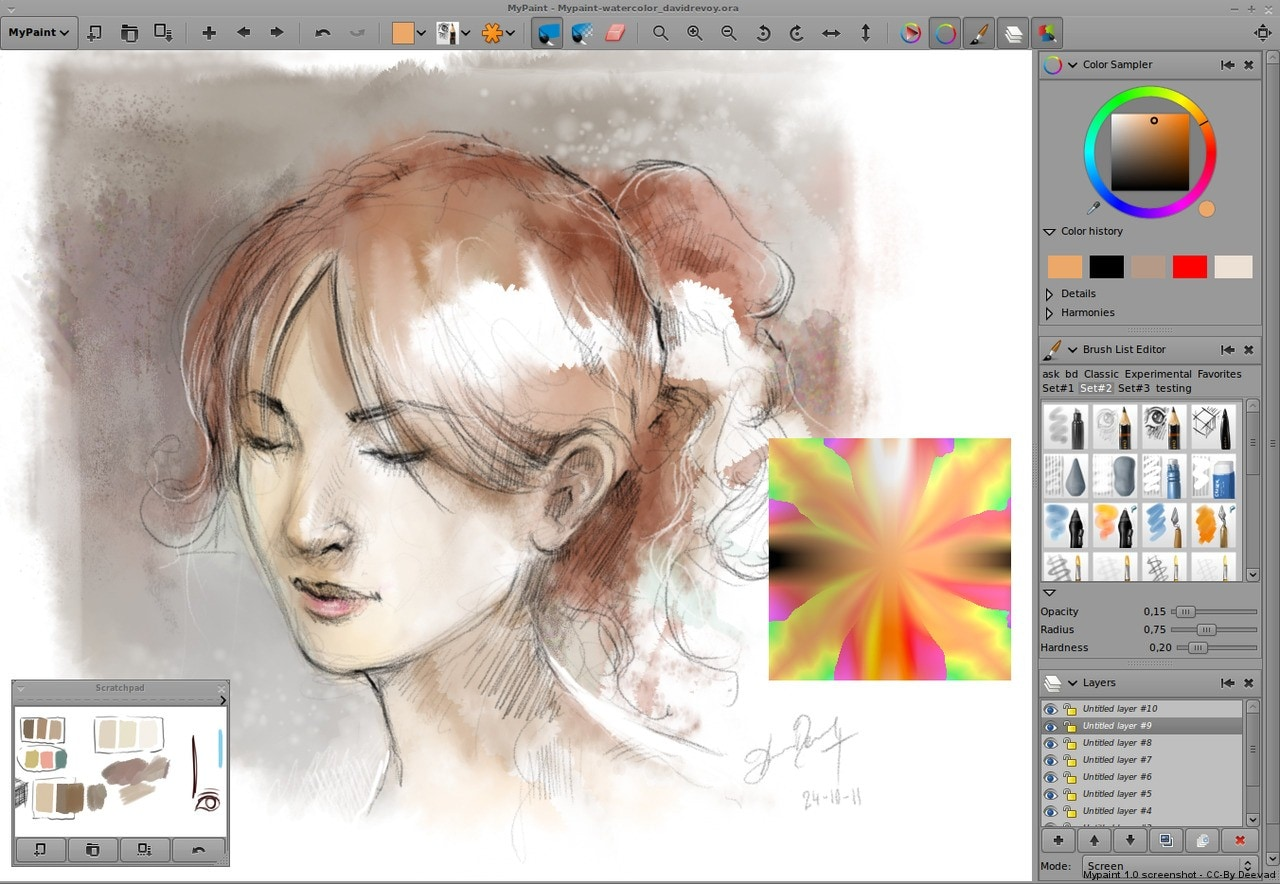 Scribble Drawing Software : Free drawing software for windows