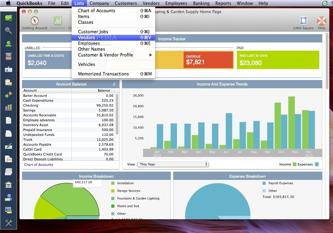 Free accounting software for Mac - photo#9