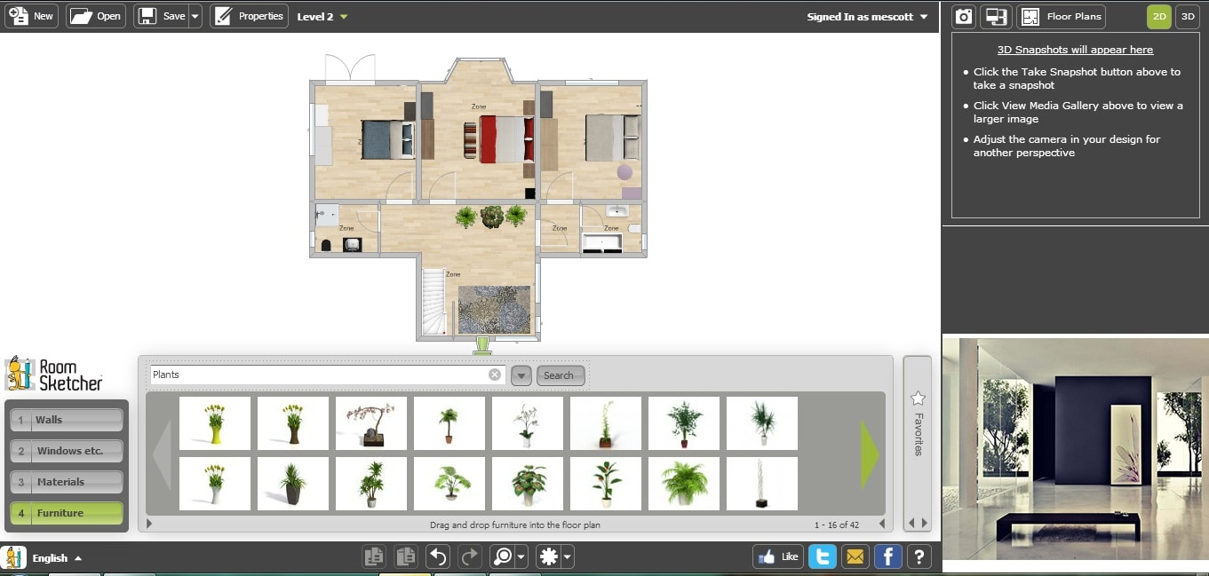 Free Home Design Software For Mac 3d Deluxe 11 Download Trend And Decor Screenshot