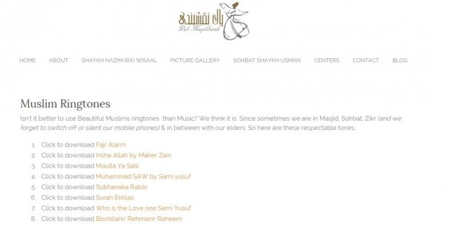 Top Websites and Apps to Download Islamic ringtones