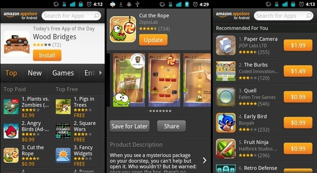 app market alternatives: Amazon App Store