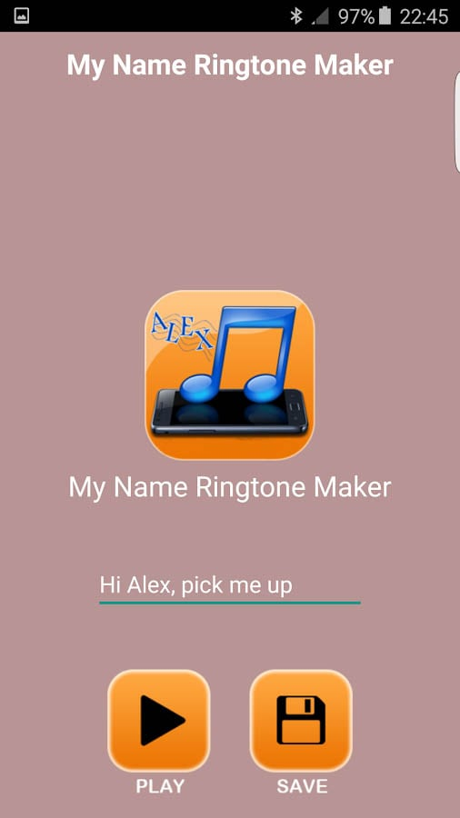 name ringtone maker app
