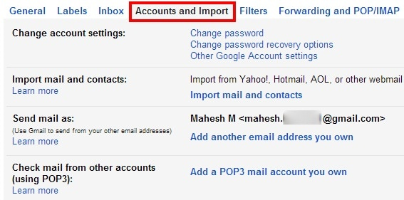 Ein Gmail-Konto wiederherstellen