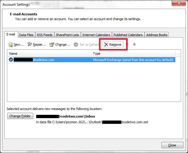 how to do when forgetting outlook password