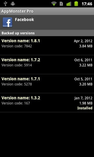 android restore app
