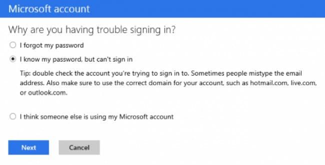 recuperar e-mails apagados de hotmail