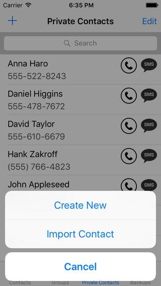 contact transfer top app