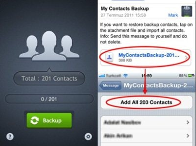 backup iphone contacts 32 applications et logiciels de transfert de contacts pour 10215