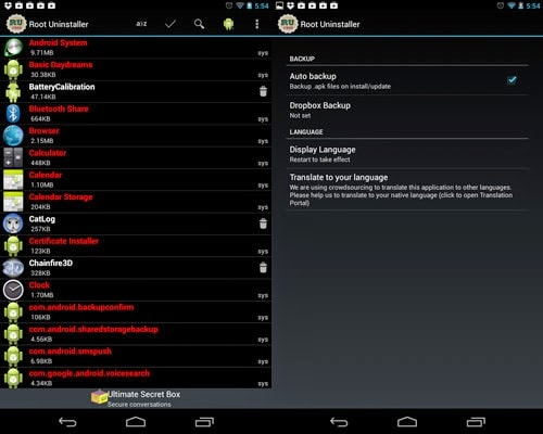 Top Android Root App: Root Uninstaller