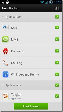 full backup android
