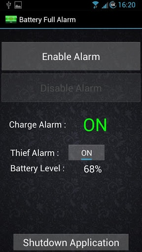 écran de verrouillage android: Alarm Anti-Theft Lock Screen