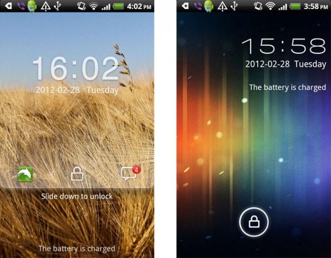 application écran de verrouillage android: GO Locker